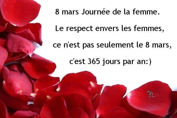 8 MARS JORNÉE DE LA FEMME